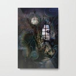 Alchemist's Lab Metal Print