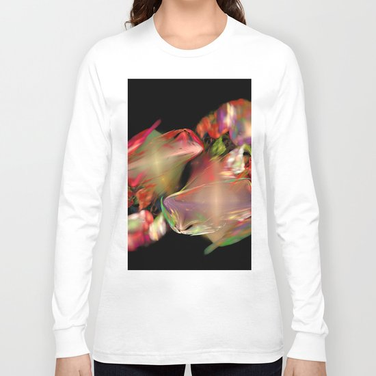 Flower Work  (A7 B0236) Long Sleeve T-shirt