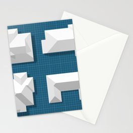 Roofscape #2 Stationery Cards
