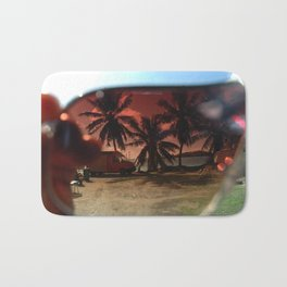 bora bora sunglasses Bath Mat