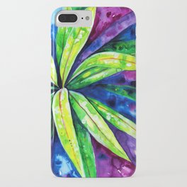Croton - Tropical Leaves iPhone Case