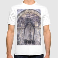 The Tomb Watchman MEDIUM White Mens Fitted Tee