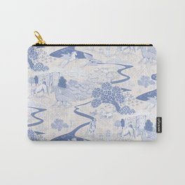Mythical Creatures Toile Carry-All Pouch