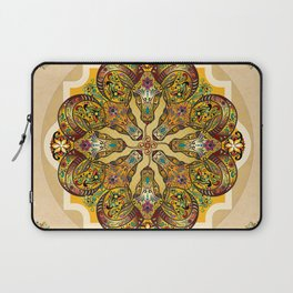 Mandala Sacred Rams - Bright Version Laptop Sleeve