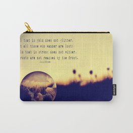 Tolkien Bubble at Sunrise Carry-All Pouch