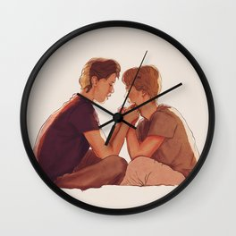 Even + Isak : Minutt for Minutt Wall Clock