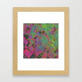 Abstracting Pink Framed Art Print