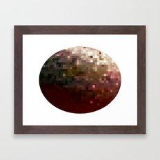 Planet Pixel 1 Framed Art Print