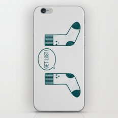Angry Sock iPhone & iPod Skin