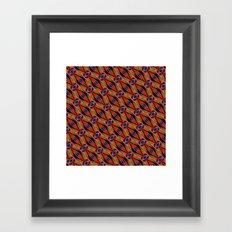 DIAGONAL SNAKILIM Framed Art Print