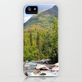 Mountain Stream - Alaska iPhone Case