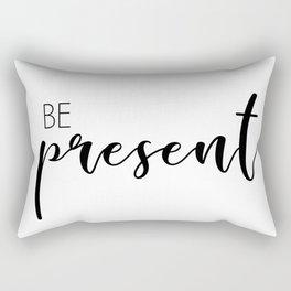 be present Rectangular Pillow