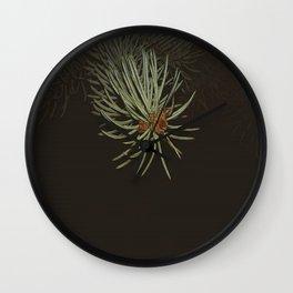 pine needle Wall Clock