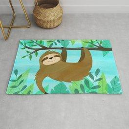 Cute Sloth Rug