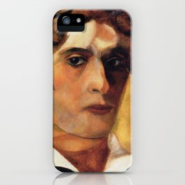 Marc Chagall Self Portrait with White Collar iPhone Case