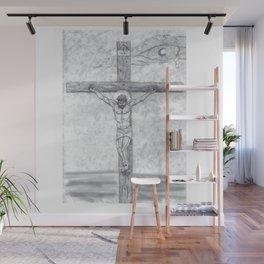 I preach Christ & Christ Crucified Wall Mural