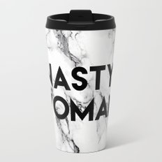 Nasty Woman (marble) Travel Mug