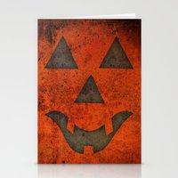 pumpkin Stationery Cards featuring Pumpkin by Renato Armignacco