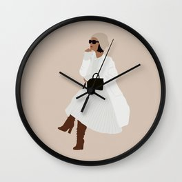 Estee Wall Clock