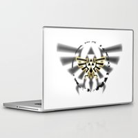 triforce Laptop & iPad Skins featuring Triforce by Otis Zanzibar