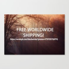 Free shipping code Canvas Print