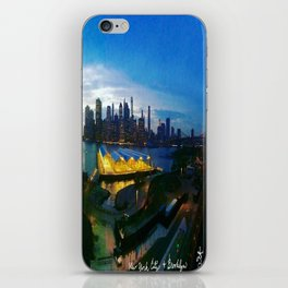New York City as viewed from the Beautiful Brooklyn Heights iPhone Skin