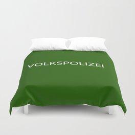 VOLKSPOLIZEI Duvet Cover