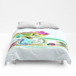 morning tea Comforters