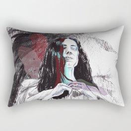 Greed. Rectangular Pillow