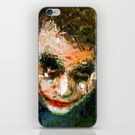 JOKER ART iPhone Skin