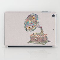 night iPad Cases featuring SEEING SOUND by Bianca Green