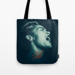 Billie / The great Billie Holiday Tote Bag