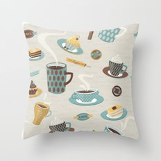 Good Morning! Throw Pillow