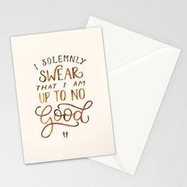 I Solemnly Swear Stationery Cards