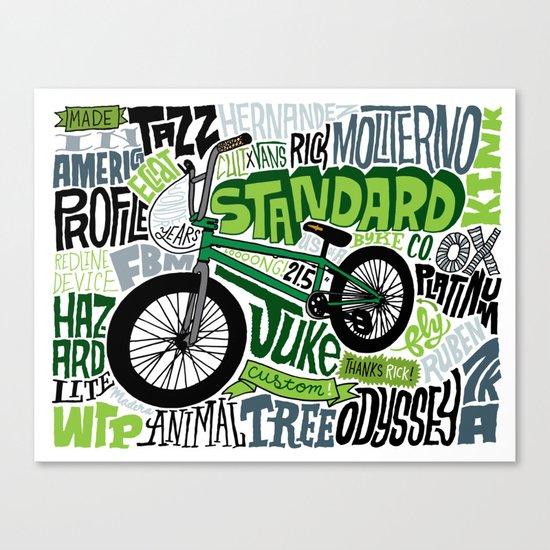 Standard! Canvas Print