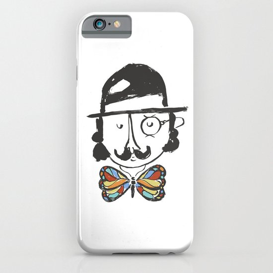 a classy butterfly collector iPhone & iPod Case