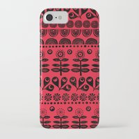blanket iPhone & iPod Cases featuring Gran's blanket by Farnell