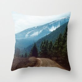 they're coming down Throw Pillow