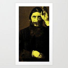 Rasputin 5 Art Print