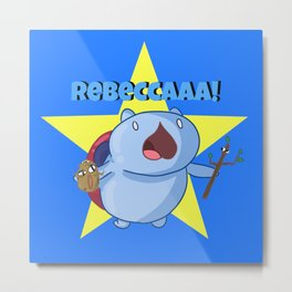 Rebeccca! Metal Print