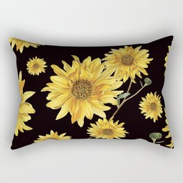 Sunflower Pattern 2 Rectangular Pillow
