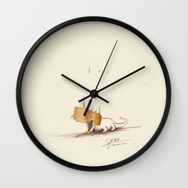#coffeemonsters 470 Wall Clock
