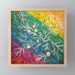 Leaves on the World Tree: Brahui Juniper Framed Mini Art Print