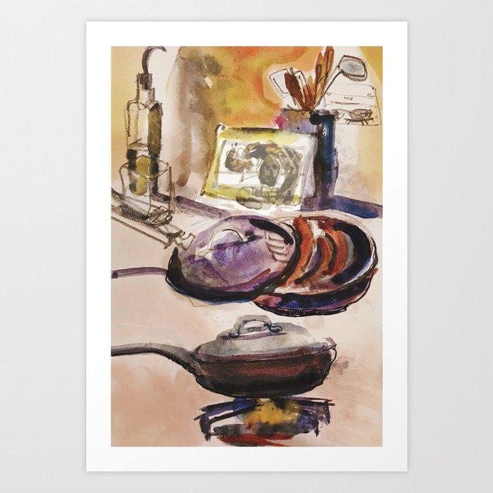 Dinner Art Painting