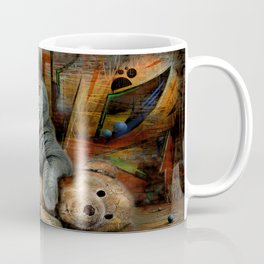 Cat Diesel with teddybear ! Coffee Mug