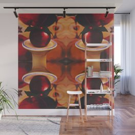 Apple of my Eye Photographic Pattern #1 Wall Mural