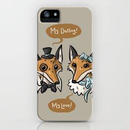 Foxy Darlings iPhone Case