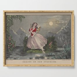 Cerrito Fanny Currier NathaCerito sic in the SylphideAdditional Sylphide Serving Tray