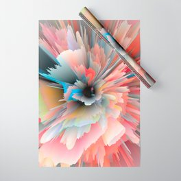 Digital Poppy Wrapping Paper
