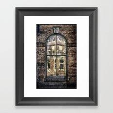 Across The Street 2 Framed Art Print